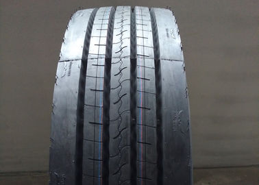 Black Appearance Highway Truck Tires 11R22.5 12R22.5 High Fuel Efficiency