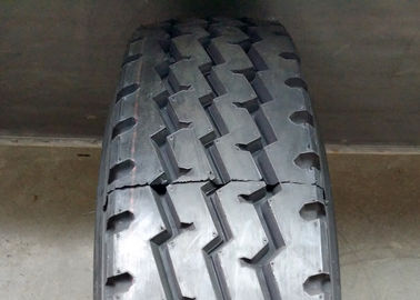 Black Color Truck Bus Radial Tyres Triple Zigzag Grooves Anti Sideslip