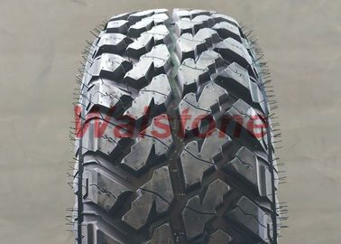 Reliable High - Stable Mud Terrain Tyres LT225 / 75R16 Open - Tread Designed