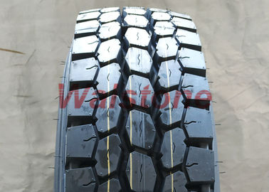 Driving Wheel 11R22.5 All Position Truck Tires Robust Massive Tread In Black Color